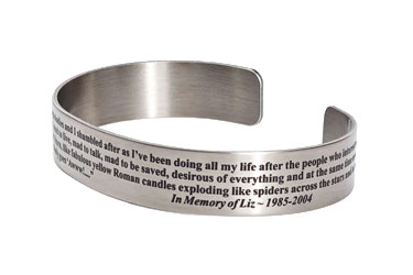 word link gift quote custom cuff inspirational bangle personalized meaningful gold i bracelet customized