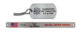 Military-Style Dog Tags, Key Rings & Helmet Plates