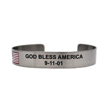 """6"""" God Bless America 9-11-01"""
