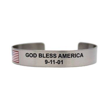 """7"""" God Bless America 9-11-01"""