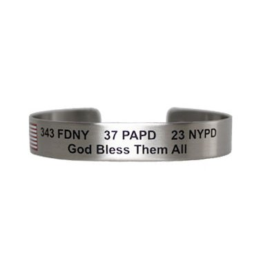 "7"" 343 FDNY 37 PAPD 23 NYPD God Bless Them All"