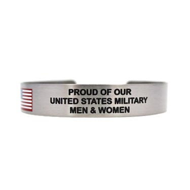 "7"" Proud of our United States Military Men & Women"