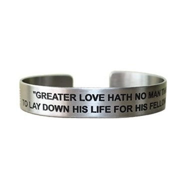 "7"" Greater Love Hath No Man with Firefighters' Maltese"