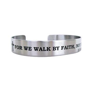 "7"" FOR WE WALK BY FAITH...2 Corinthians 5:7"