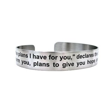 """7"""" For I know the plans I have for you, declares the LORD...Jeremiah 29:11"""