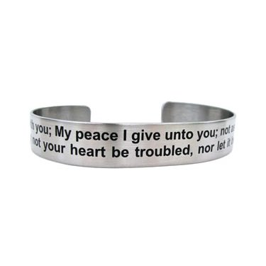 "7"" Peace I leave with you...John 14:27"