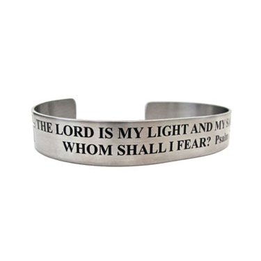 "7"" The Lord is my light and my salvation...Psalm 27:1"