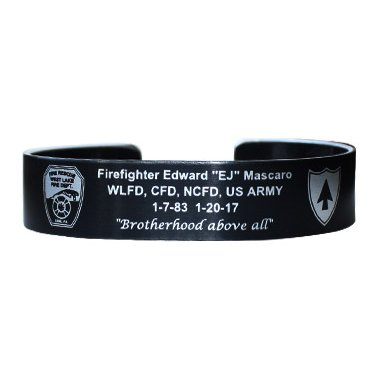 FF EJ Mascaro Bracelet with WLFD Logo - this is a pre-order