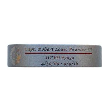 "Capt. Robert Louis Poynter III UPFD 6"" Small Size Bracelet"