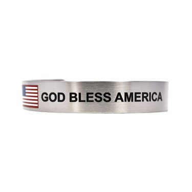"""7"""" God Bless America"""