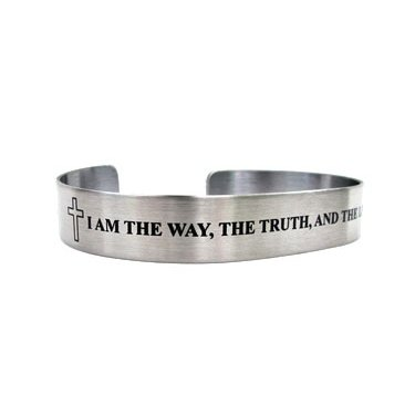John 14:6 I am the way, the truth and the life.