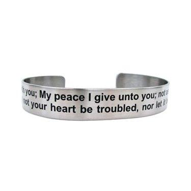 "7"" Peace I leave with you...John 14:27"