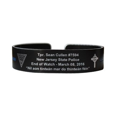 "Tpr. Sean Cullen 6"" Small Size Memorial Bracelet"