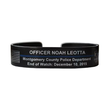 Officer Noah Leotta Memorial Bracelet