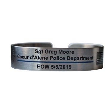 Sgt Greg Moore Memorial Bracelet