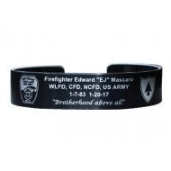 Mascaro, FF EJ Bracelet with WLFD Logo - this is a pre-order ready to ship in 3-4 weeks